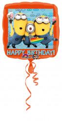 Aluminium-Luftballon Minions™ 43cm