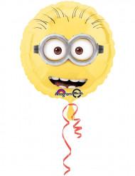 Minions™ Aluminium-Luftballon schwarz-gelb-weiss