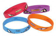 Ninja Turtles Armbänder aus Gummi