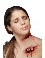 Wunde mit Naht