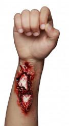 Falsche offene Wunde an Arm