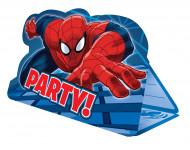 8 Einladungskarten mit Umschlag - Spiderman™