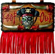 Piraten-Schild