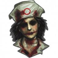Wanddeko - Zombie Krankenschwester