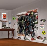 Zombie Wanddekoration Set