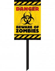 Zombie Verkehrsschild