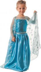 Verkleidung Blaue Eisprinzessin für Mädchen