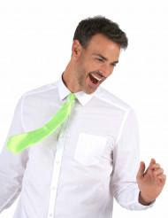 Neongrüne Krawatte