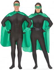Superheldenkostüm für Frauen und Männer -grün