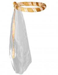 Goldene, mittelalterliche Kopfbedeckung für Mädchen