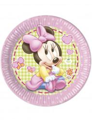 8 Pappteller Minnie Maus™