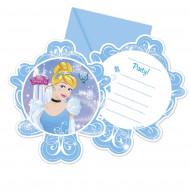 6 Einladungskarten Cinderella™