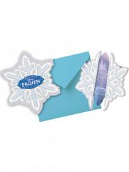 6 Einladungskarten + Briefumschläge - Die Eiskönigin