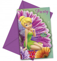 Disney Fairies Einladungen