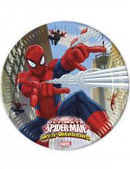 8 Spiderman Web Warrior™ Pappteller