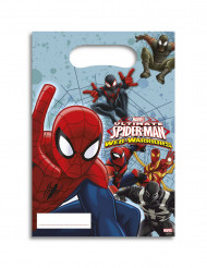 6 Spiderman Web Warriors™ Geschenktüten