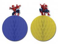 Zwei aufhängbare Spiderman™-Dekorationselemente