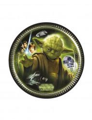 8 Star Wars™ Pappteller Yoda