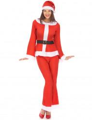 Weihnachts-Kostüm für Frauen aus Filzmaterial