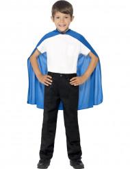 Blauer Umhang für Kinder
