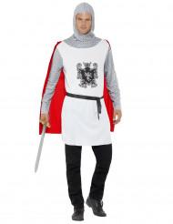 Kostüm weißer Ritter für Herren