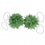 Bikini Oberteil aus grünen Blättern
