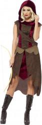 Jägerin Kostüm für Damen