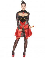 Schickes Kostüm Königin der Herzen für Frauen