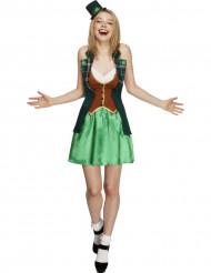 Sexy Irish St. Patrick Kostüm für Frauen