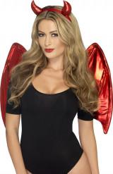 Rotes Demon Set - Halloween