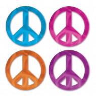 8 mini Peace and Love Zeichen