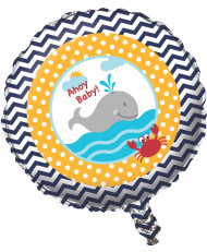 Aluminium Ballon kleiner Wal