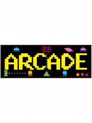 Wanddekoration Arcade 80-er Jahre