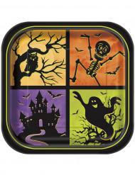 8 Teller - Halloween