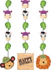 Hänge-Dekoration - Safari Happy Birthday