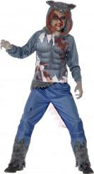 Halloween Kostüm Blutiger Werwolf für Jungen