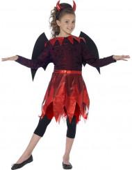 Halloween Kostüm Teufel für Mädchen