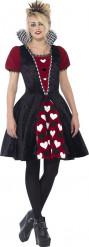 Kostüm Herz-Prinzessin für Teenager