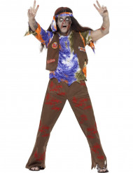 Hippie-Zombie-Halloweenkostüm für Männer