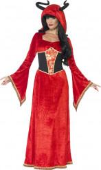 Teuflische Königin Kostüm Frauen