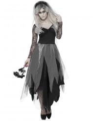 Hochzeitsgeist Kostüm für Frauen in schwarz