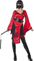 Kostüm Ninja-Krieger für Damen
