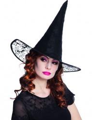 Hexen Hut mit Spitze Halloween für Damen