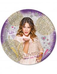 8 Violetta™ Teller 23 cm gold violett