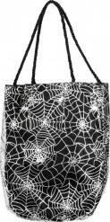 Tasche mit Spinnennetzen