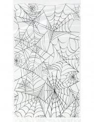 20 Geschenktüten aus Plastik Spinnweben-Design Halloween