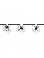 Spinnennetz Girlande - Halloween