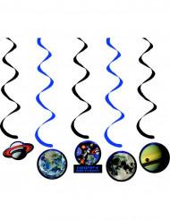 5 dekorative Planeten als Schmuck für die Geburtstagsparty