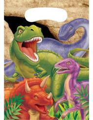 8 Dinosaurier Geschenktaschen für Geburtstag