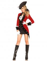 Verkleidung meuternde Piratin für Frauen